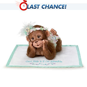I Can't Help It If I'm Adorable Monkey Doll