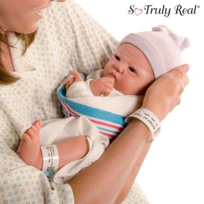 Sandy Faber Welcome To The World Lifelike Newborn Baby Girl Doll