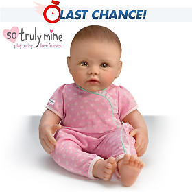 So Truly Mine Baby Doll: Dark Brown Hair, Hazel Eyes
