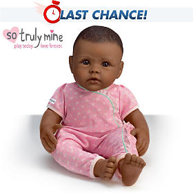 So Truly Mine Doll: Black Hair, Brown Eyes, African American