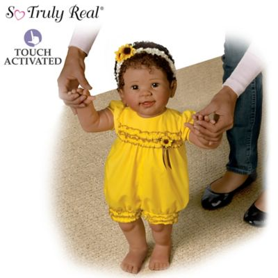 Kiaras First Steps So Truly Real Lifelike Walking Baby Doll