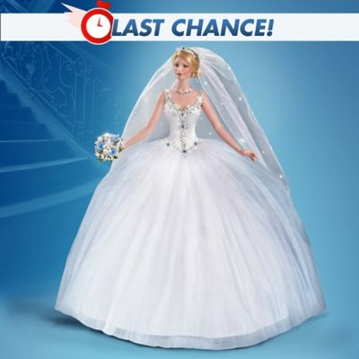 Cindy Mcclure Happily Ever After Bride Doll With Swarovski