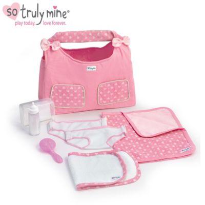 Diaper Bag Baby Doll Accessory Set
