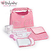 Diaper Bag Baby Doll Accessory Set