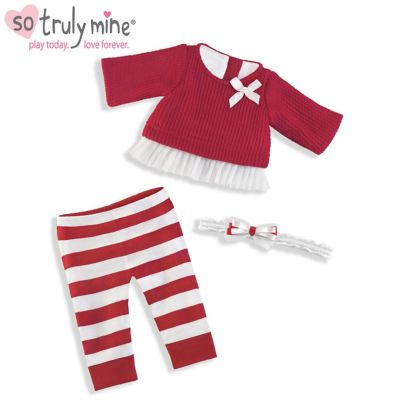 8565f3f83 So Truly Mine Holiday Sweater Baby Doll Accessory Set