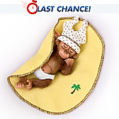 Sweet Slumber Monkey Doll
