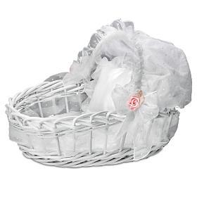 Sweet Slumber Wicker Basket Doll Accessory