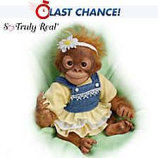 Darling Daisy Monkey Doll