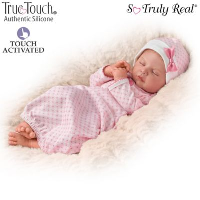 Ina Volprich Breathing Silicone Baby Doll by