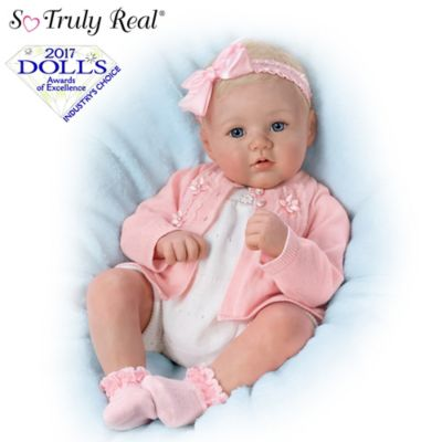 The Ashton-Drake Galleries Baby Doll High Chair with Pad and Bib for So Truly Mine Baby Doll by The Ashton-Drake Galleries. Sold by zabiva. add to compare compare now. $ $ The Ashton-Drake Galleries Lily Rose So Truly Soft Silique Silicone with Hand-Rooted Hair and 7-piece layette set and blanket ensemble.