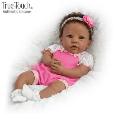 4ae74b1ff Silicone Baby Dolls - The Ashton Drake Galleries