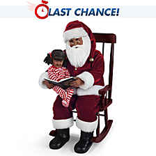 'Twas The Night Before Christmas Portrait Doll Set