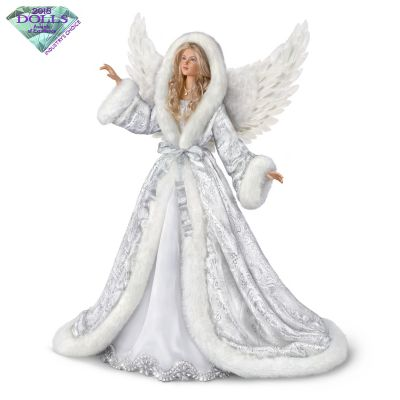 Collectors Edition Silent Night Angel Musical Illuminated