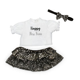 Ringing In The New Year Baby Doll Accessory Set Size Large