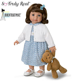 Madison Child Doll And Plush Teddy Bear Set