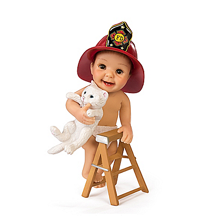 Photo of Hero To The Rescue Baby Doll by The Bradford Exchange Online