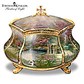 Thomas Kinkade Garden of Prayer Music Box