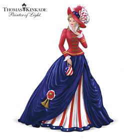 Thomas Kinkade O! Say Can You See Figurine