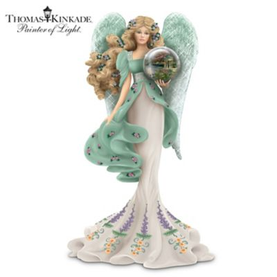 Thomas Kinkade Angel Figurine With