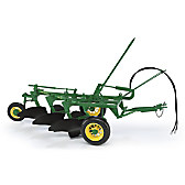 John Deere #55 3-Bottom Plow Diecast Tractor Accessory