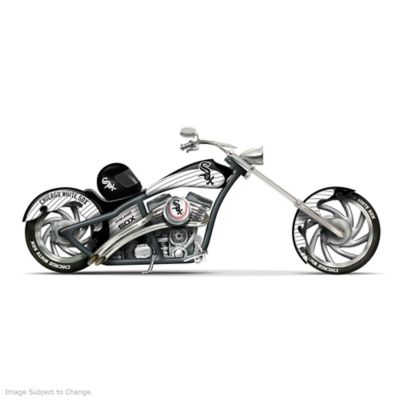 Chicago White Sox Home Run Racer Motorcycle Figurine by