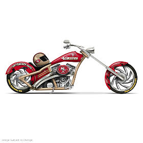 San Francisco 49ers Cruiser Figurine