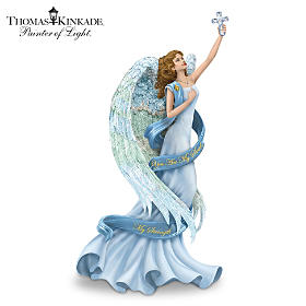 Thomas Kinkade You Are My Soul, My Strength Figurine