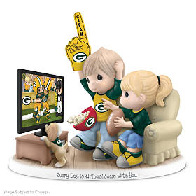Every Day Is A Touchdown With You Packers Figurine