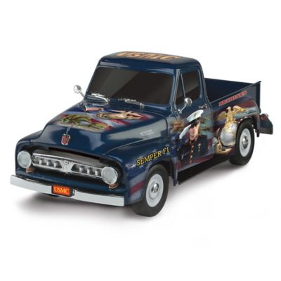 Sculpted 1:36-Scale Ford F-150 With James Griffin USMC Art by