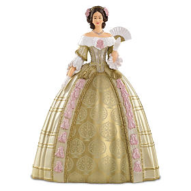 Queen Victoria Attends The Stuart Ball Figurine