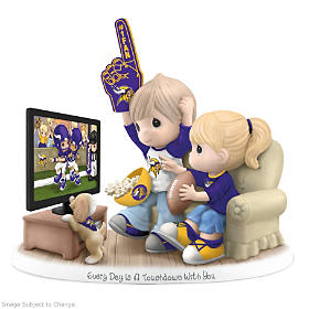 Every Day Is A Touchdown With You Vikings Figurine