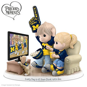 Every Day Is A Slam Dunk With You Wolverines Figurine