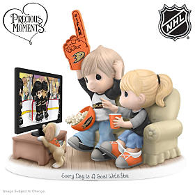 Every Day Is A Goal With You Anaheim Ducks® Figurine