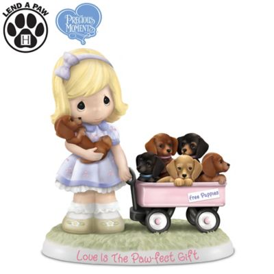 Precious Moments Love Is The Paw Fect Gift Figurine With