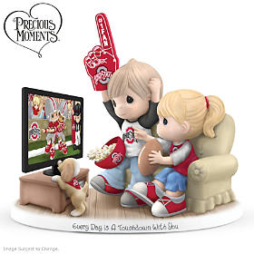 Every Day Is A Touchdown With You Buckeyes Figurine