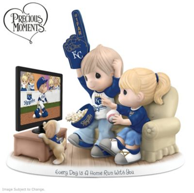 Precious Moments Kansas City Royals Fan Porcelain Figurine by