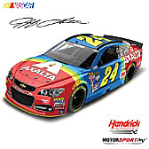 Jeff Gordon Axalta Coating Systems Rainbow Diecast Car