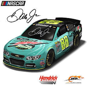 Dale Earnhardt Jr. No. 88 Baja Blast 2015 Sculpture
