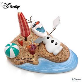 Disney From Snowman To Sunman Figurine