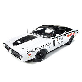 1971 Dodge Charger R/T World 600 Pace Diecast Car