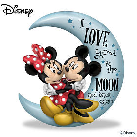 Disney I Love You To The Moon And Back Again Figurine