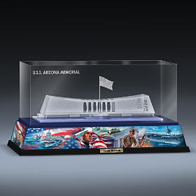 Honoring The Heroes Of Pearl Harbor Laser-Etched Sculpture