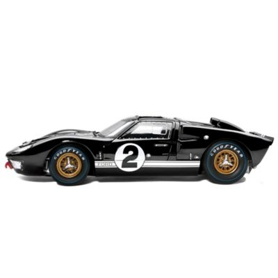 1:18-Scale 1966 Ford GT-40 Diecast Replica Car: Black by