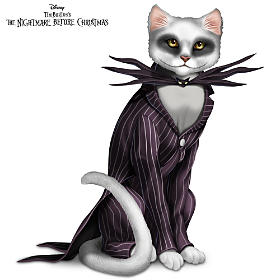 Disney Nightmare Before Christmas Purr-fectly Jack Figurine