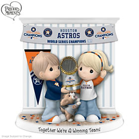 Together We're A Winning Team Houston Astros Figurine