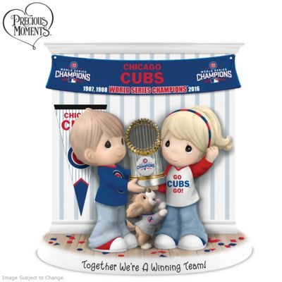 Chicago Cubs World Series Precious Moments Figurine by
