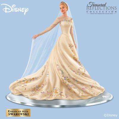 Disney Wedding Dress.Disney Cinderella The Wedding Gown Figurine
