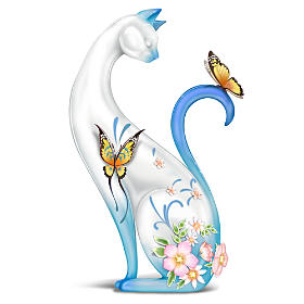 Serene Purr-fection Figurine