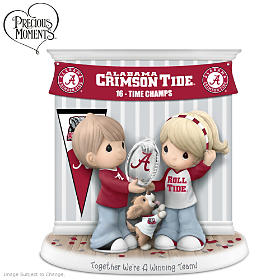 Together We're A Winning Team Crimson Tide Figurine