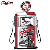 Fueled To Impress Indian Motorcycle Gas Pump Sculpture